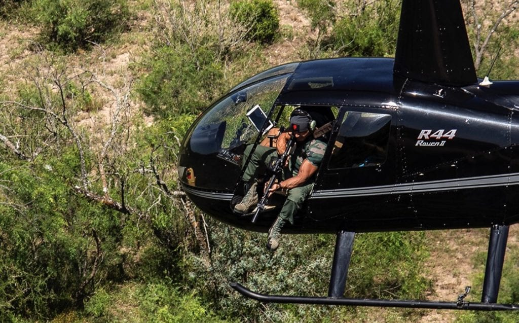 helicopter hog hunting texas