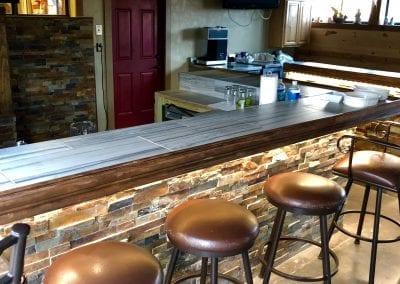 sports bar hunting lodge